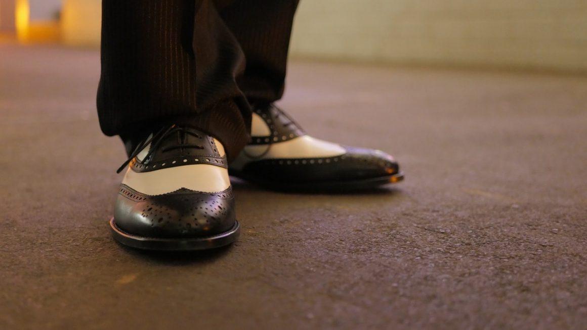 chaussure italienne blanche