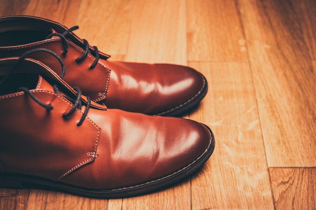 glaçage chaussure