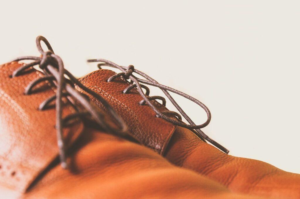 lacet fin de chaussure