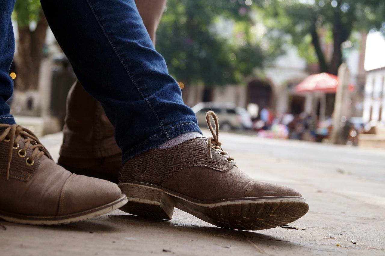 chaussure avec jean slim