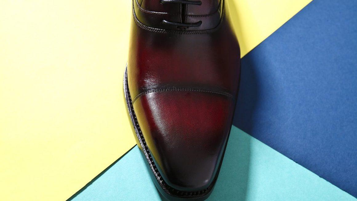 chaussure bout arrondi