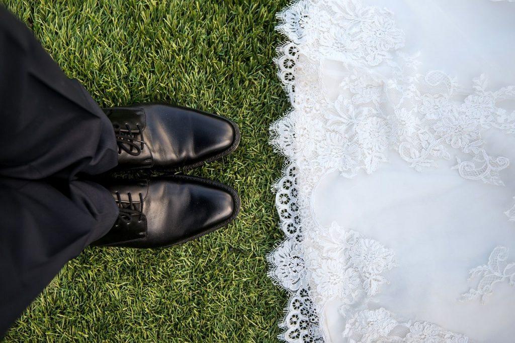 chaussure chic de mariage