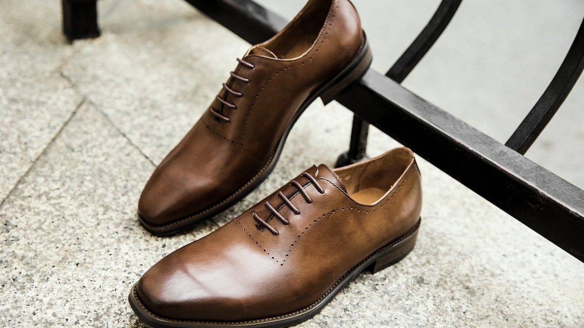 chaussure italienne marron