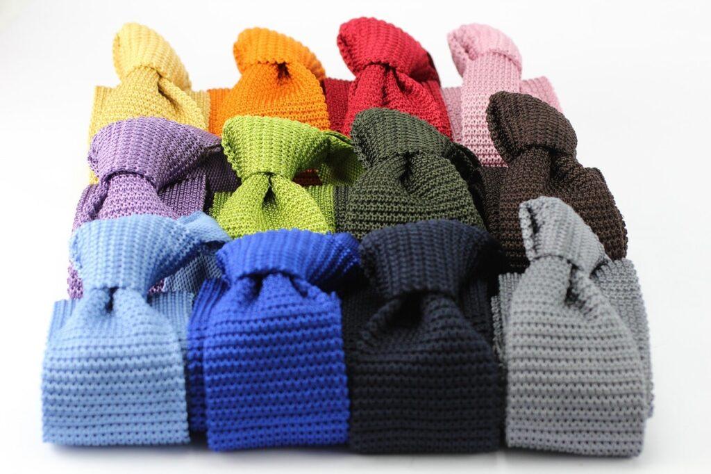 cravate chambray