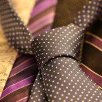 cravate en polyester